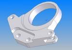 3D Modell eines Bauteils für den Nutzfahrzeugbau