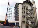Fassadengestaltung / Treppenhaus
